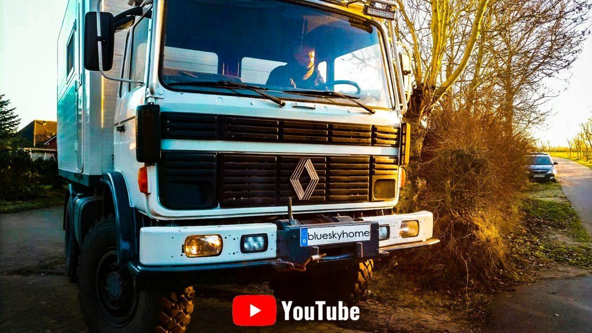 Weltreise Expeditionsmobil – Instandsetzung, Wartung und LKW Technik